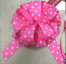 grosgrain ribbon pull bows