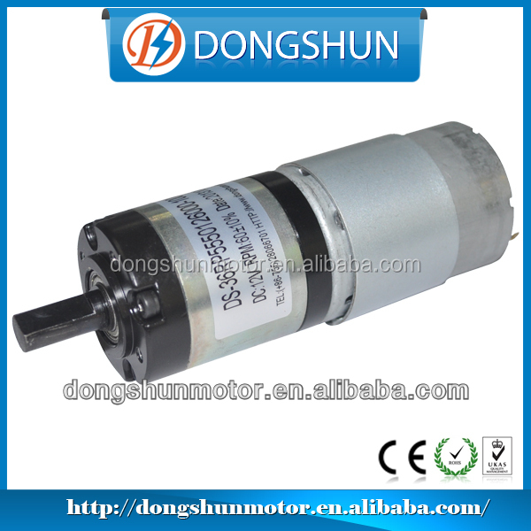 DS-36RP555 36mm high torque 7Nm 24v planetary gearbox motor