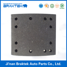 Semi-metal brake lining for semi trailer and truck