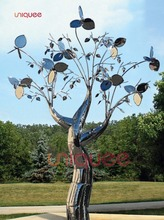 cast iron tree of life sculpture