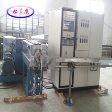 Fiber optic cable strengthener cushion layer extrusion filling rope production line