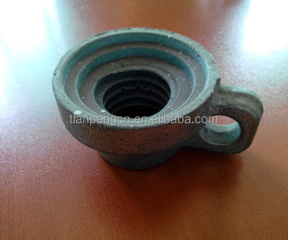 concrete formwork jack nut for U head jack/jack base