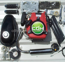 bicicleta motorizada/4 stroke engine/ 49cc bike motor kit