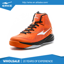 ERKE wholesale brand performance lighweight high ankle basketball shoes