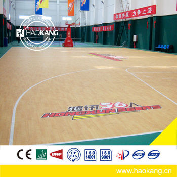 Portable Basketball Court Sports Flooring / basketball flooring prices / badminton flooring