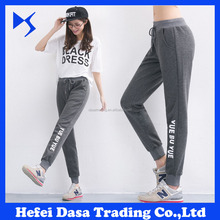 Wholesale Woman Cotton <strong>Sport</strong> Trousers Gym Jogger Sweat Pants