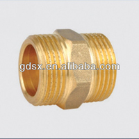 ISO9001:2008 high quality water meter nipple tube fitting,copper tubing fittings,compression tube fittings