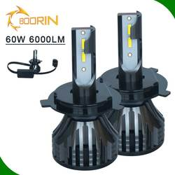 auto part, L7 Linear beam pattern H1 H3 880/881 H10 HB3 HB4 H16 9012 H4 H7 car led headlight conversion kit for car