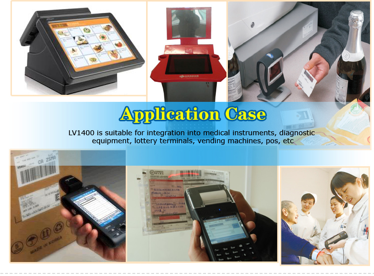 LV1400 Mini Kiosk Barcode Reader
