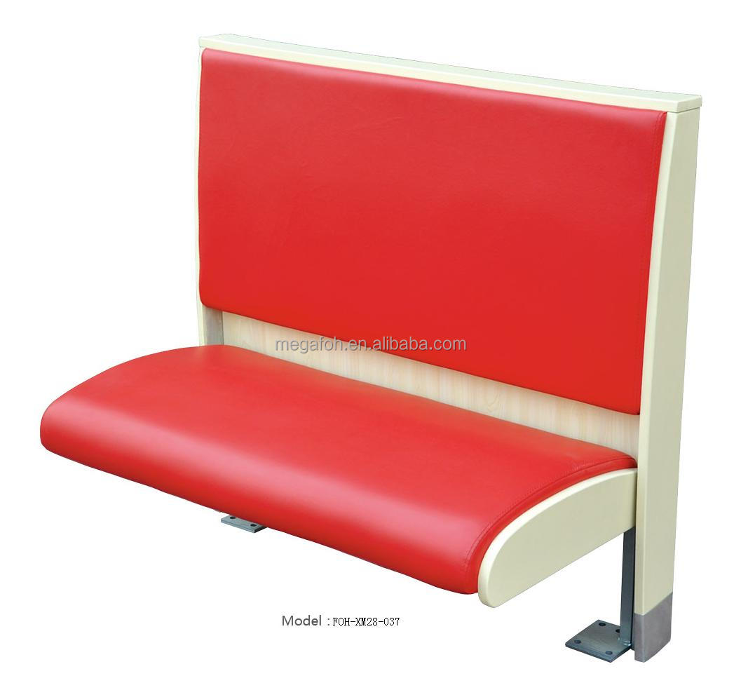 New design modern restaurant sofa Booth(FOH-XM28-037)