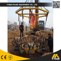 hydraulic breakers cut pile head KP315A concrete cutter excavator parts