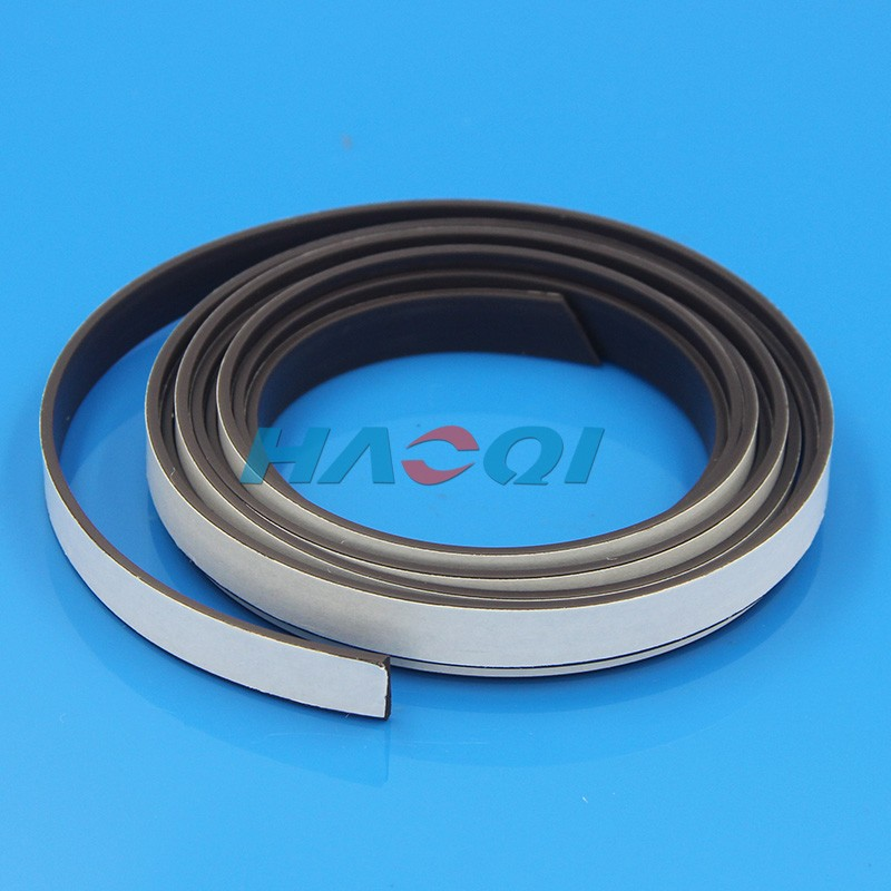 flexible rubber adhesive magnet strips