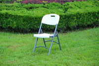used white plastic wedding folding chair for sale