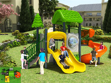 KAIQ Tree House Series children favorite attractions small size plastic outdoor play are equipment