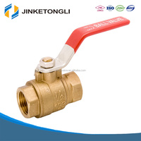 Manual Operated Forged Brass Ball Valve Price JKTL B044L