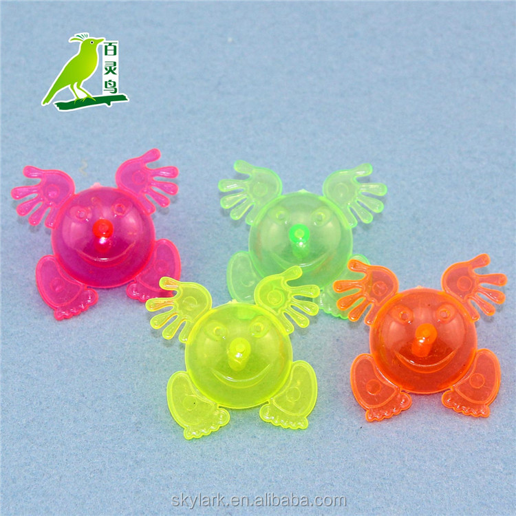 cheap promotional plastic spinning top toy, plastic toy