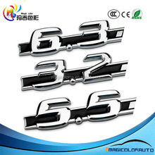 Car Sticker Metal 5.5 6.3 3.2 Displacement Auto Logos C63 Refit AMG Auto FENDER LOGO EMBLEM