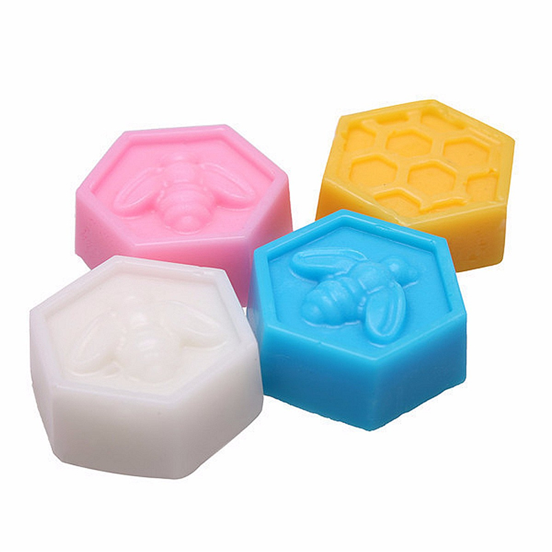 19 Cavities Honeycomb Shape Silicone Chocolate Soap Ice Cake Mold
