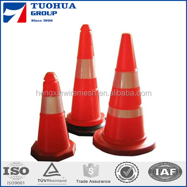 Green or Lime Color Traffic Cone,Plastic Reflecting Traffic Cone for Sale