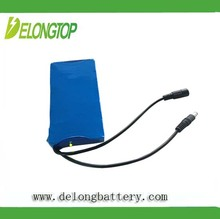12v light weight battery packs mini 12v rechargeable battery DC12v 15000mah super rechargeable portable