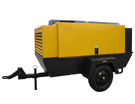 Electric driven Portable rotary screw air compressor