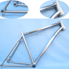 Hot sale titanium helix MTB frame 29er disc brake tapered headtube thru-axle Pinion version internal cable routing bike frame