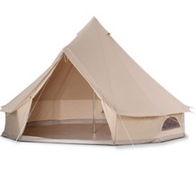 Outdoor 10x10 Waterproof Canvas Teepee Modern Pagoda Luxury Yurt Bell Tent