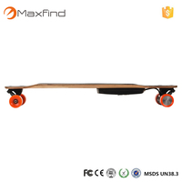 Professional off road electric skateboard + Powerfull Dual 2200w 4 wheel electric skate board wholesale