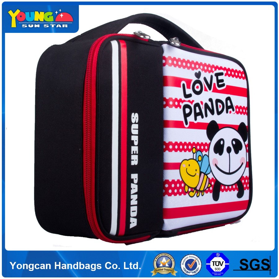 600d polyester OEM acceptable lunch cooler bag