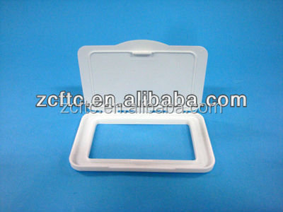 Plastic wet wipe cover/lid wholesale,baby wet wipe cover