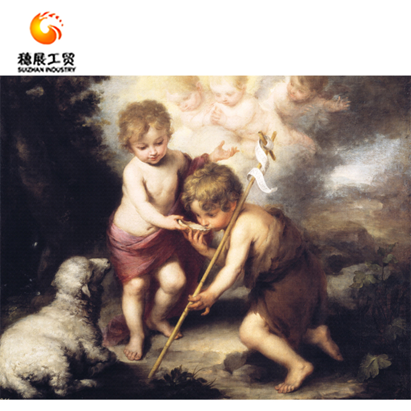 Wholesale Price Religious Paintings Types Wall Decoration On Canvas