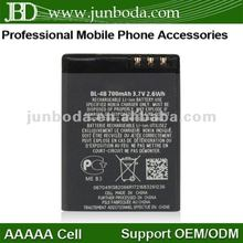 Newest mobile phone battery for nokia 1209 700mah 3,7v