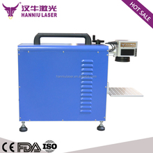 ML-10 175*175mm fiber 10W ear tags laser engraving machine