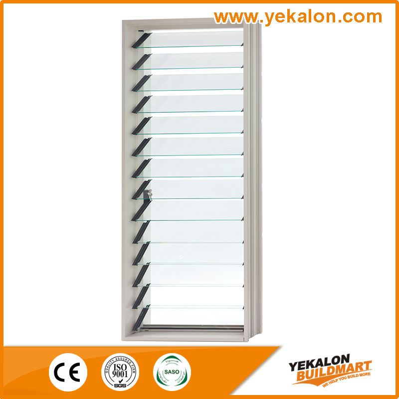 2016 Yekalon New Design Movable Aluminum Glass Louver