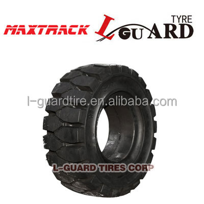 6.00-15 700-12forklift solid tire l-guard brand for sale