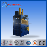 Factory Made Hydraulic Used Scrap Tire Recycling Baler Machine