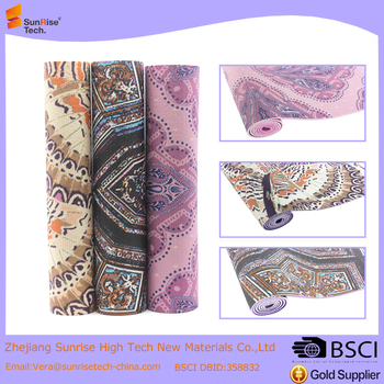 pattern digital yoga mat printing