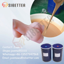 Human Skin Like Medical Grade Silicone Rubber for Female Body Parts