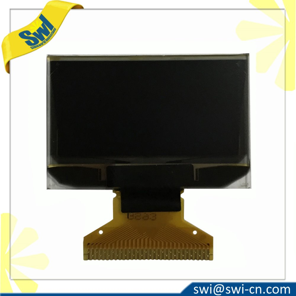 Manufacturer 1.3 inch oled display 128x64 White