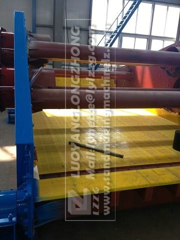 enviromental tailing machine, GP dewatering screen