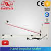 Manual transformer impulse sealer with side cutter