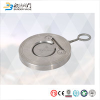 2 inch wafer Type stainless steel swing check valve