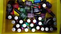 2014 HOT SALE PROFESSIONAL FACTORY 7.5ml wholesale gel nail polish for nail art/LED gel/nail art