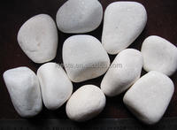 Hot Chinese Size 3-5cm Snow White River Stone and pebble stone