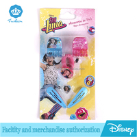 Fashion 2016 Charm Soy Luna Disny Kids Hair Accessories Hair Band Clips Gift Set