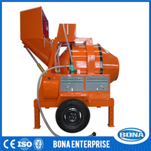 China building construction equipment mobile concrete mixer with diesel engine