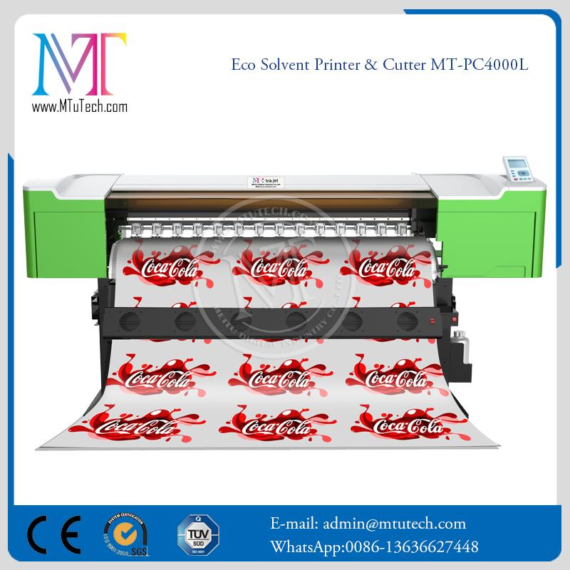 Inkjet Manufacturer with dx7 Print Heads Banner outdoor advertising printer