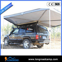 Stainless steel camping with awning quick folding roof trailer tents