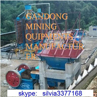 Jiangxi Spiral Concentrator For Lead Tin Tungsten Ore