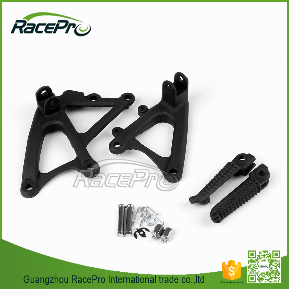 Front Footrest Foot Pegs Brackets for Yamaha YZF R1 (2009-2011)